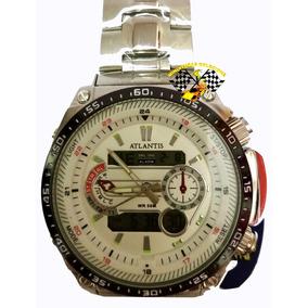 f272c998659 Relogio Atlantis Dourado A3333 - Joias e Relógios no Mercado Livre ...