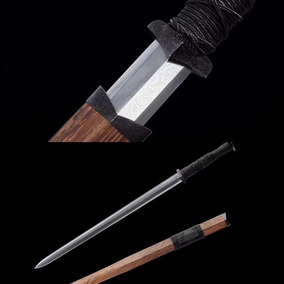 Espada Chinesa Tradicional Jian Dinastia Han Wushu Kung Fu