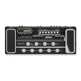 Pedaleira Zoom G9.2tt Para Guitarra 110v Valvulada Usb Nf-e