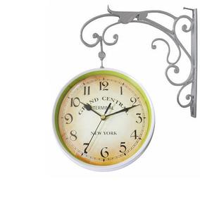 Relogio De Parede Dupla Face Estacao Vintage Frete Gratis - Relógios ... 8da7727d48