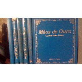 Artesanato - Coleção Mãos De Ouro 5 Volumes Abril Cultural