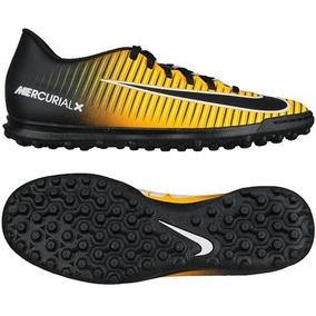 ff16cf05d0 Chuteira Nike Mercurial Steam V Tf Mf Society N°42 - Chuteiras Preto ...