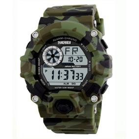 19f5814ce3e Relogio Pulso Militar Verde Exercito - Relógios De Pulso no Mercado ...