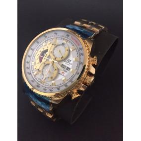 c51a31c3a9d Relógio Casio Edifice Ef 558 Dourado Masculino - Relógios De Pulso ...