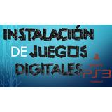 Instalación De Juegos Digitales Play Station 3 - Ps3