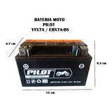 Bateria Moto Pilot Ytx7a Scooter, Kinlon 150/200 Y Mas
