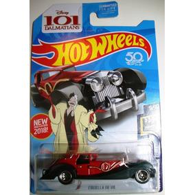 Carro Hot Wheels Cruella De Vil 101 Dalmatas Mattel Juguete