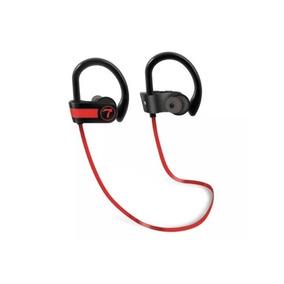 Fone Bluetooth Teamyo Alça Vermelha - A Prova Dágua