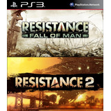 Resistance Fall Of Man + Resistance 2 Ps3 Digital Gcp