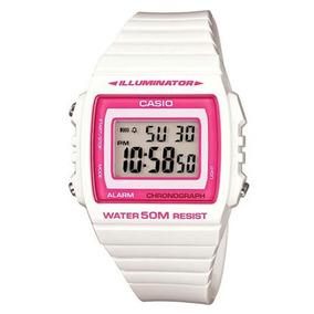 8c19f7e24af Relogio Casio Digital W 215h Branco - Relógios De Pulso no Mercado ...