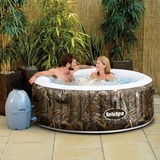 Spa Circular Inflable Jacuzzi 4 Personas Airjet