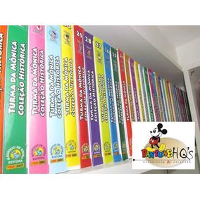 Coleção Completa Turma Da Mônica Edição Histórica / 1 Ao 50