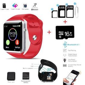 All Metro Pcs Phones - Red - Reloj Smartphone Bluetooth-3294