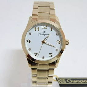 Relógio Feminino Champion Analógico Social Cn29169h - Relógios no ... 988e92a5d4