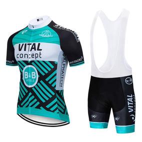 Set Ciclismo Vital C 2019 Jersey + Short Bib, Bici Ruta Mtb