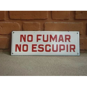 Antiguo Cartel Enlosado Instructivo