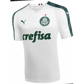 Camiseta Branca Palmeiras 2019 (personalisada)