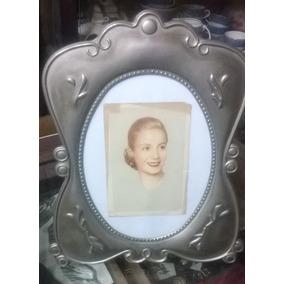 Dos Postales Época 1er. Gob. Perón Y Evita Con Marco Platado