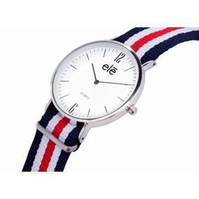 f542b2580366 Reloj Mk Caucho Azul Blanco Diamante Piel Moda 2013 Verano - Reloj ...