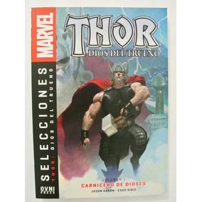 Cómic, Marvel, Thor Vol.1 Carnicero De Dioses Ovni Press