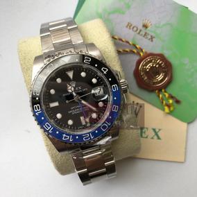 898f6d02415 Relogio B5679 Gmt Master 2 Misto Prata Garantia - Relógios De Pulso ...