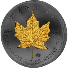 Moeda De Prata Canada 2015 - Goden Enigma (rutenio E Ouro)