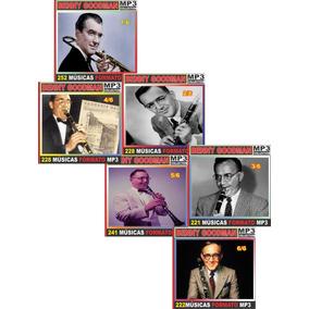 Benny Goodman Discografia Completa 68 Cd Com 1.392 Músicas