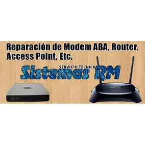 Reparación Módem Aba Internet, Router, Etc, En Maiquetia