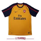 Camisa Futebol Oficial Arsenal Inglaterra 2008 Away Nike G 5ab8f72cde782
