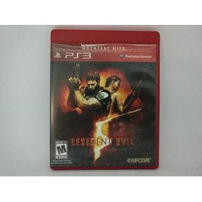 Jogo Ps3 Resident Evil 5 Mídia Física