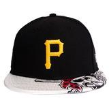 Boné New Era Dub Logo Pittsburgh Pirates Otc M l Snapback Bo 80c178f30d5