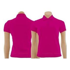 Kit 10 Camisa Pólo Masculina Tecido Piquet