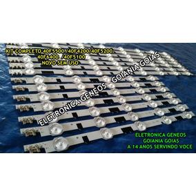 Kit Completo 14 Barra De Led Samsung Tv Un40f5500 Un40f6400