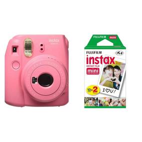 Câmera Instax Fuji Mini 9 Instantanea Polaroid + 10 Fotos