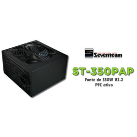 Fonte Atx Seventeam 350w St-350pap *com Possível Defeito*