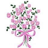 Matriz Bordado Flores Lindas E Delicadas