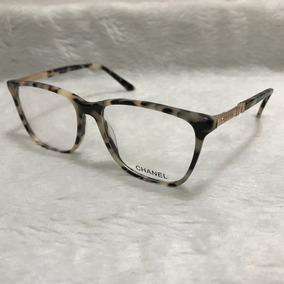 5cfb48b92d21f Armação Óculos Grau Feminino Gatinho Quadrado Acetato 3216. R  80