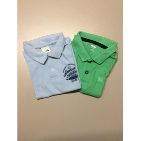 1b11156133d Kit Com 2 Camisas Polo (old Navy + Camisa Polo Malwee)