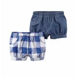 Hbk Carters Set De 2 Shorts Para Bebés Talla 18 Meses