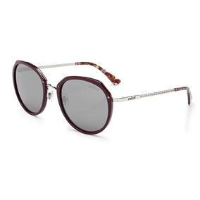 b08ff04af3a20 Oculos Redondo Vermelho Escuro De Sol - Óculos no Mercado Livre Brasil