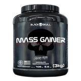Mass Gainers 6.6 Lbs - Morango - Black Skull