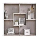 Organizador Mueble Moderno Librero Revistero Fácil Ensamble
