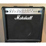 Amplificador Marshall Mg50cfx Con Efectos Y Pedal