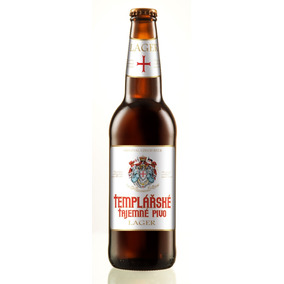 Cerveza Templarske Lager Republica Checa 1 Bot. 500ml*