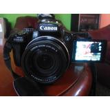 Canon Sx 50hs Como Nueva (zoom Brutal) Estado 10/10