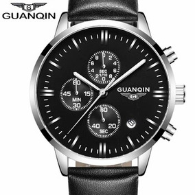 Relógio Masculino Guanqin Cronógrafo Prova Dagua