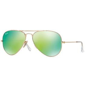 Ray Ban Aviator 58 Dourado Fosco 112 85 De Sol - Óculos no Mercado ... 666f600462