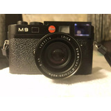 Leica M9 Camara Digital Con Lente Summilux-m 35mm F/1.4