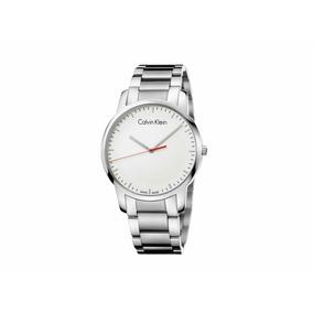 Reloj Calvin Klein Hombre Plateado Acero Inoxidable K2g2g1z6