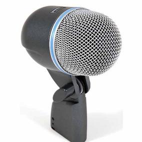 Microfone Shure Beta 52 Bumbo + Bolsa | Garantia 2anos Origi